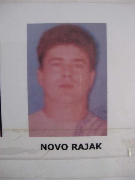 Novo Rajak, sentenced for war crimes committed against Bosniaks in Visegrad.