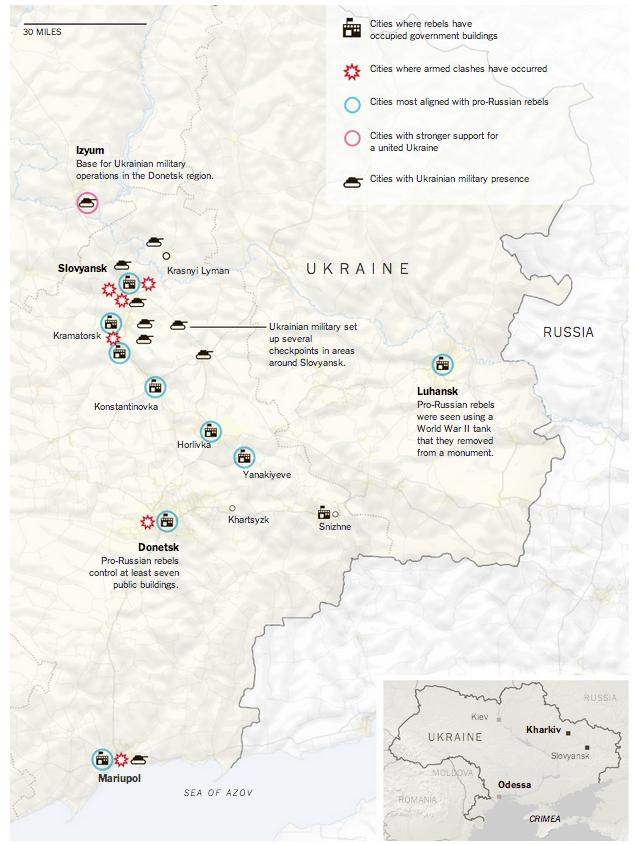 Ukraine Crisis in Maps
