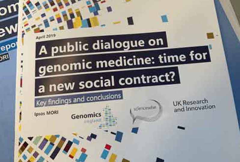 A public dialogue on genomic medicine: time for a new social contract?
