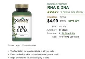 Swanson RNA & DNA