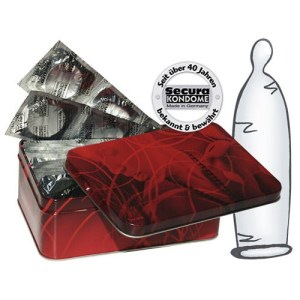 Secura Kondome 50 waterthin condoms | Genotshop.nl
