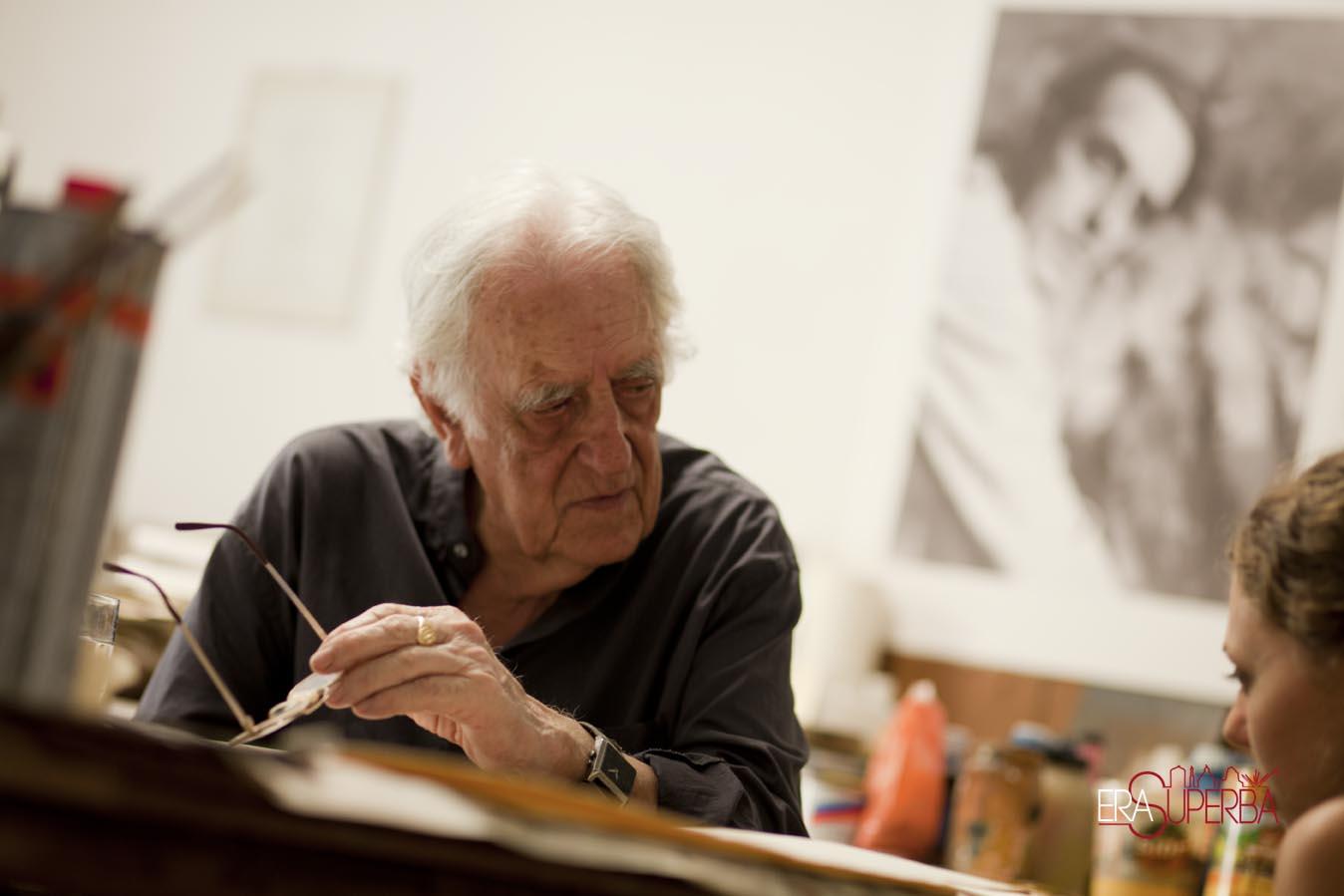 Luiso Sturla incontro con il pittore ligure da Chiavari