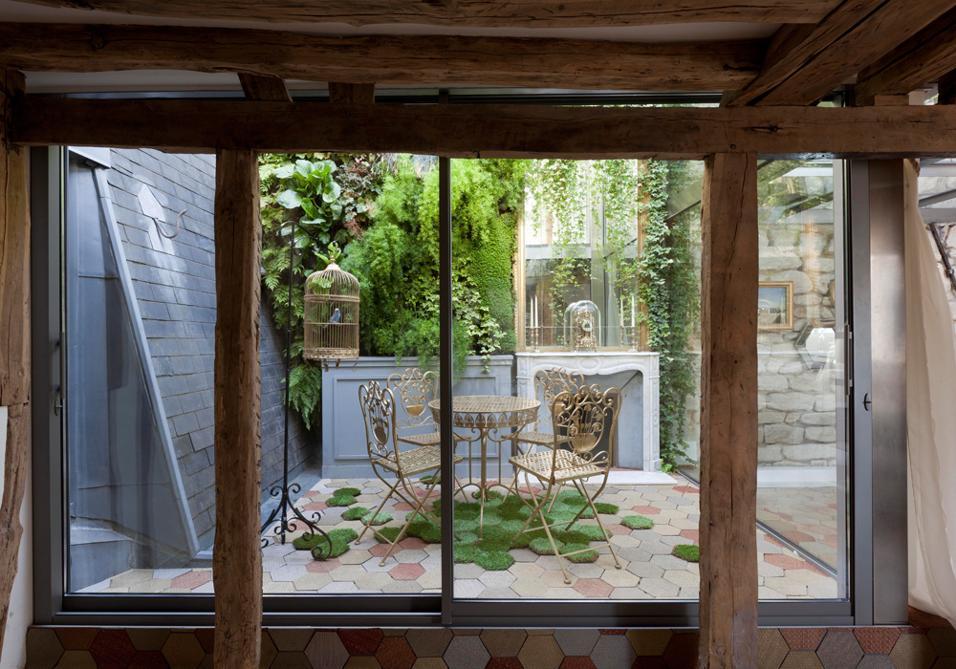 Francia muri di piante e pareti verdi nel Mediterraneo