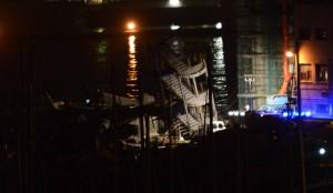 Una nave abbatte la torre dei piloti Tre morti, 6 feriti e almeno 4 dispersi