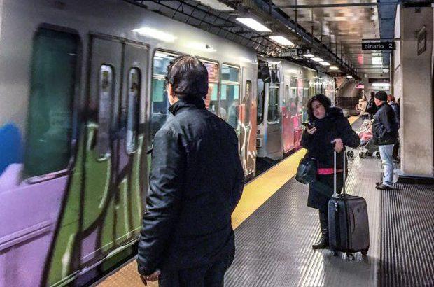 Stazione metro brin metropolitana san giorgio