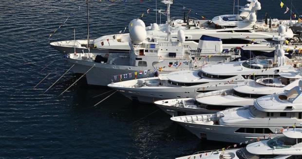 nautica, industria, yacht