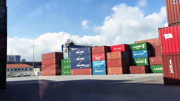 Terminal Ssech calata sanità container