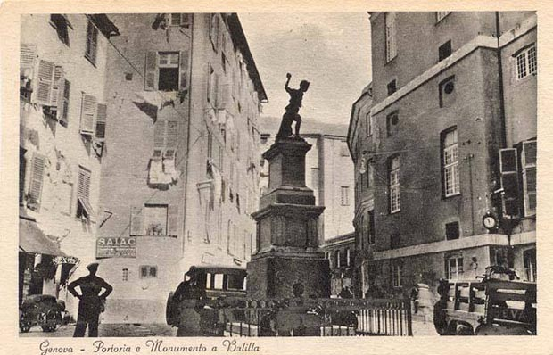 monumento balilla antico