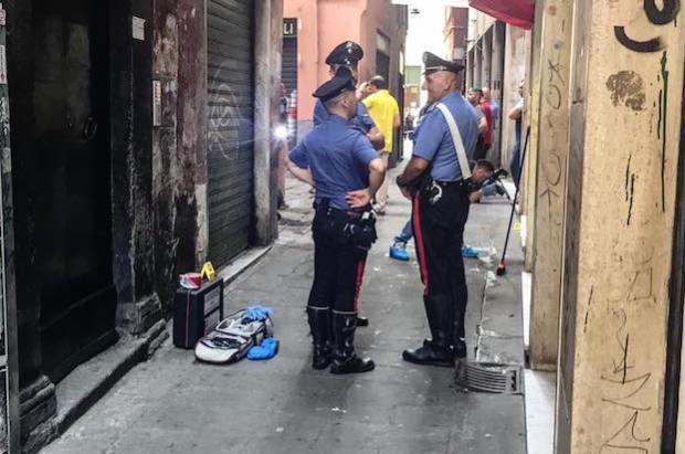 carabinieri accoltellamento canneto
