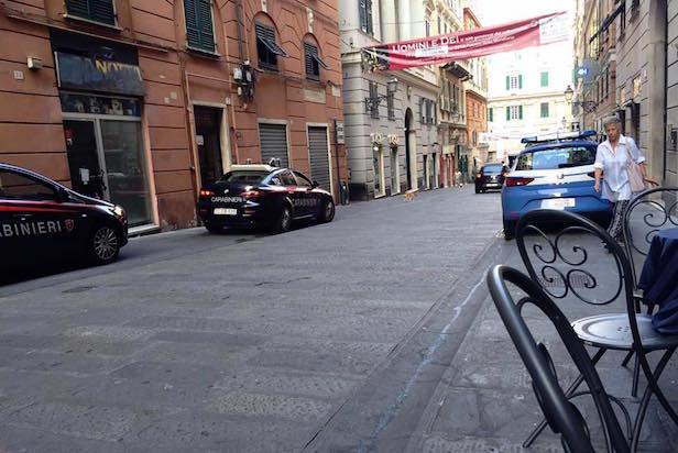 polizia carabinieri centro storico