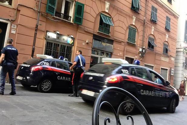 carabinieri centro storico