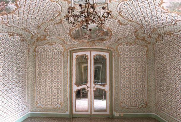 salotto degli stucchi Palazzo reale