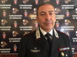 Il tenente colonnello Alberto Tersigni, responsabile del reparto operativo dei carabinieri