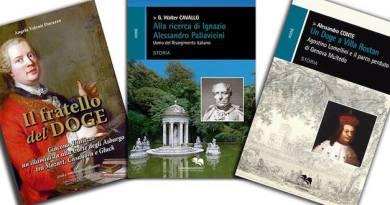 Tre libri, tre personaggi della storia genovese: Giacomo Durazzo, Agostino Lomellini e Ignazio Alessandro Pallavicini