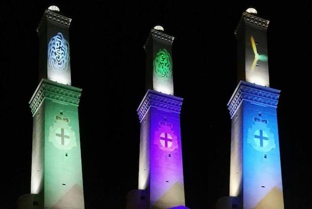 Lanterna Illuminazione : La lanterna si illumina di colori domani il primo spettacolo di