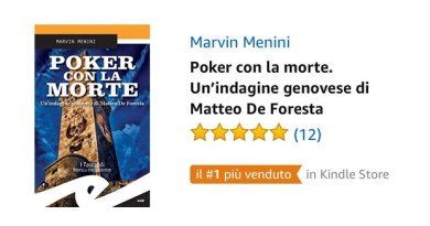 "Un ortopedico del Galliera scala le vette dei kindle Amazon: ""Poker con la Morte"" di Menini in testa"
