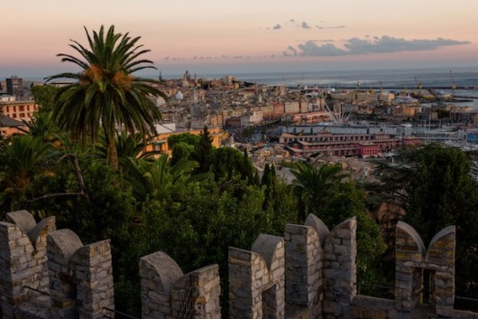 panorama genova porto antico