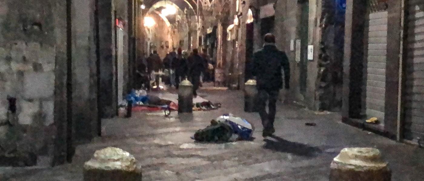 """Il mercato abusivo trasloca in forma ridotta in San Marcellino. Garassino: """"I controlli si allargano sul territorio"""""""