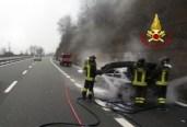 vigili del fuoco autostrada
