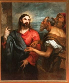 Van Dyck A. _Cristo della moneta (foto Luigino Visconti 2012)