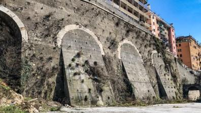 Le mura cinquecentesche del bastione di San Giorgio