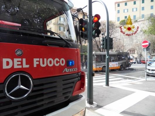 vigilli del fuoco bus