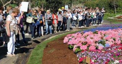 Ventimila visitatori (il massimo della capienza dei parchi). Ora Euroflora è ufficialmente un successo