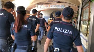 polizia centro storico