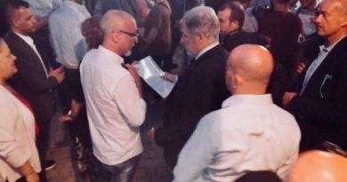 CasaPound consegna al Sindaco le richieste per la Valpolcevera