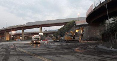 Nuova rampa Guido Rossa-Aeroporto, chiusa via Siffredi. Le ripercussioni su servizio Amt e Trenitalia