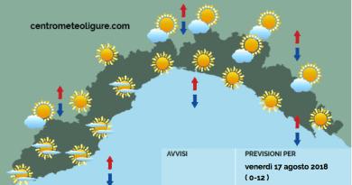 Meteo Limet: in prevalenza soleggiato con il transito di nubi medio-alte