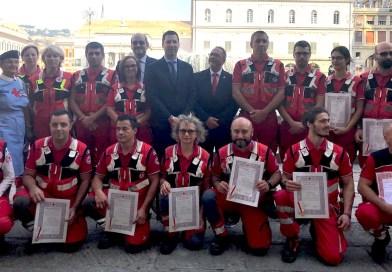 Comune e Regione ringraziano i volontari Cri di Ponte Morandi e Amatrice