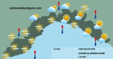 Meteo Limet: prima foschia, poi aumento della nuvolosità senza piogge