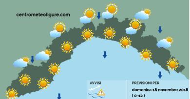 Meteo Limet: cielo sereno, venti forti e continuo calo delle temperature