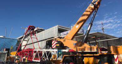 All'Acquario arrivano i pezzi del nuovo impianto produrrà energia elettrica, termica e frigorifera