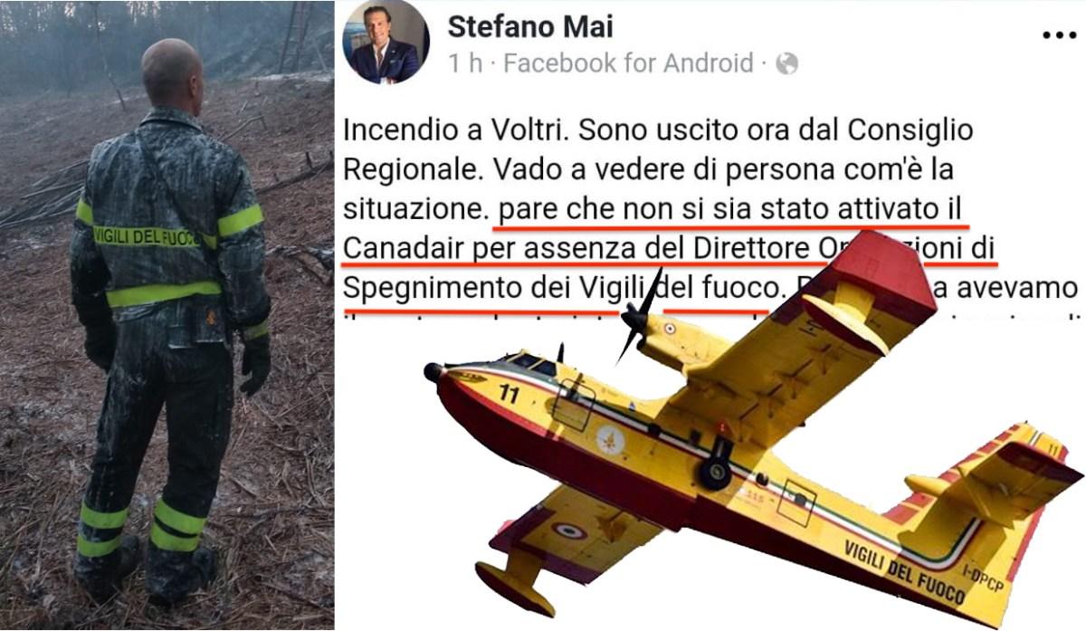Mai su Facebook contro gli eroi del Ponte Morandi. Sbugiardato dai vvf, dai video e dalle foto