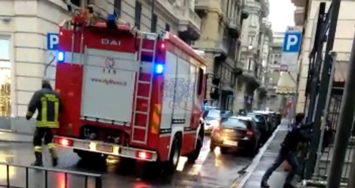 Esplosione nella sottostazione elettrica di via di Brera