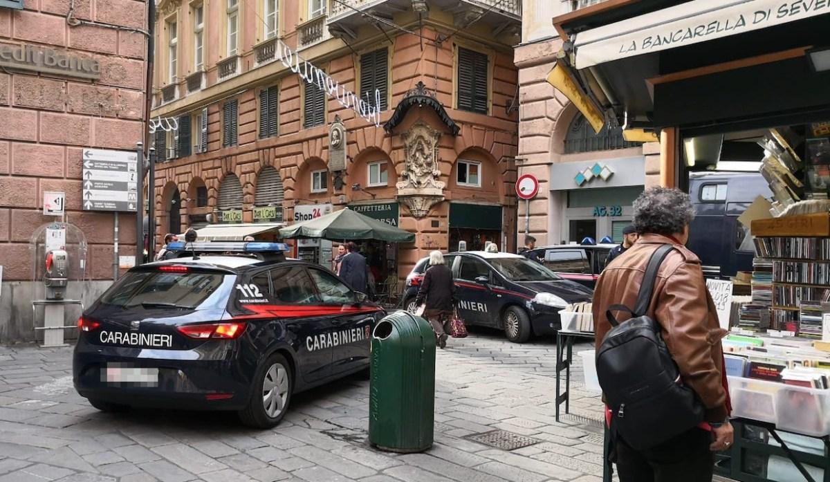 Imponente operazione dei carabinieri in centro storico