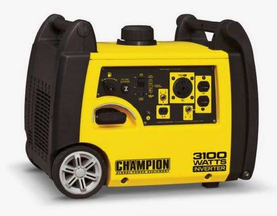 Champion 3100W inverter generator