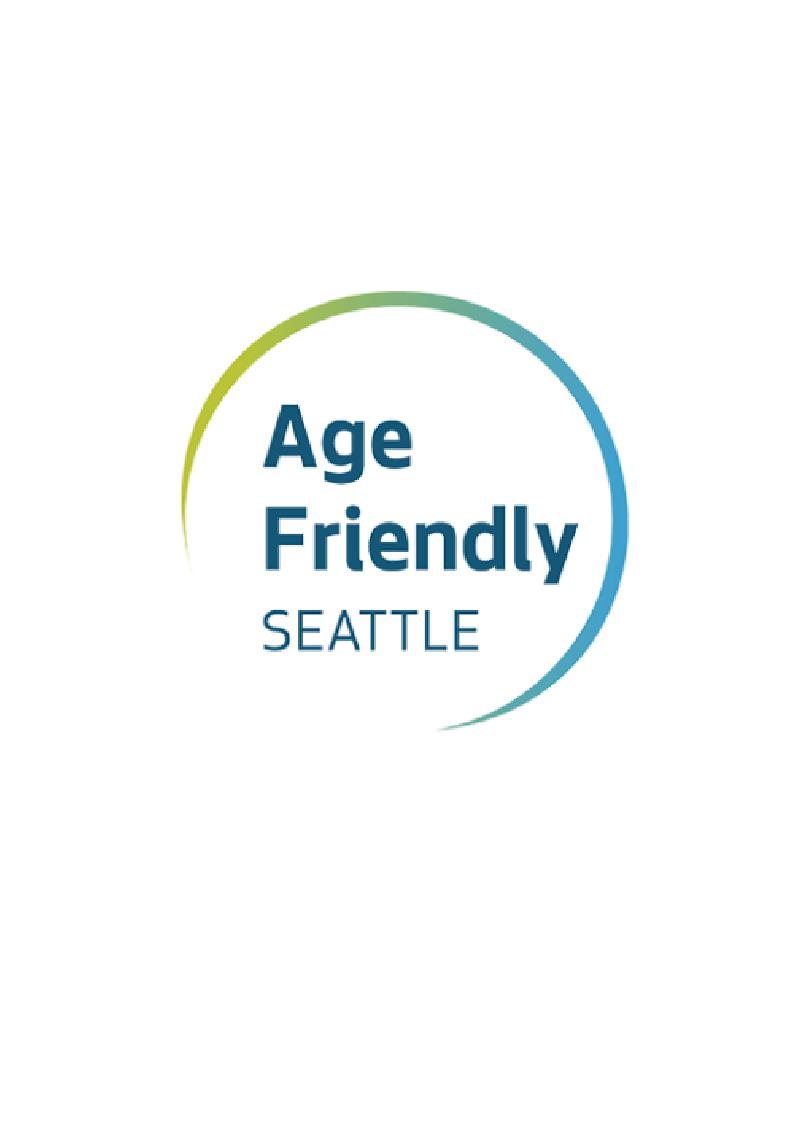 Age Friendly Seattle