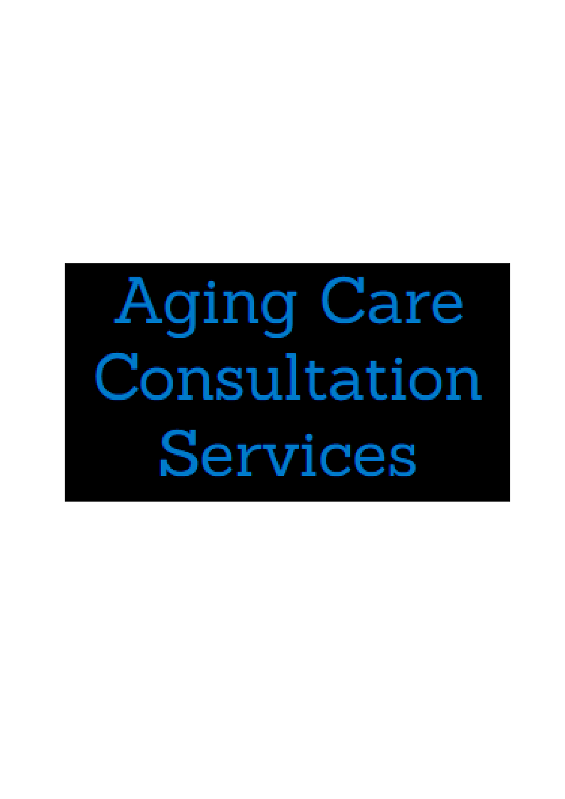 Aging Care Consultation services logo