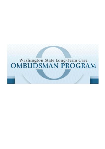 Washington State Long-Term Care Ombudsman Program