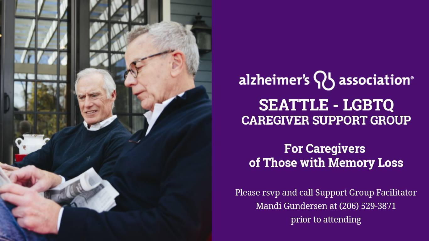 Alzheimer's Association: Seattle LGBTQ Caregiver Support Group