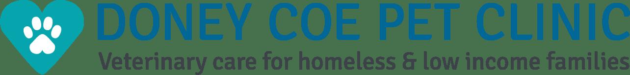 DONEY COE PET CLINIC logo