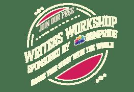 Writer's Workshop sponsored by GENPride logo