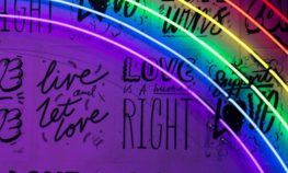 image in rainbow colors