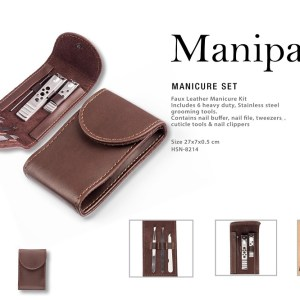 Manipac Manicure Set Nail Buffer-Nail File-Tweezers