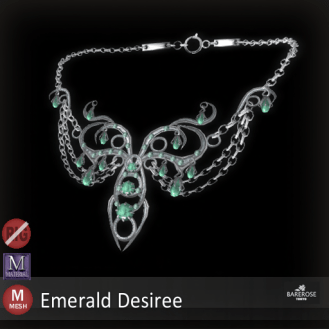 Barerose Tokyo - Emerald Desire