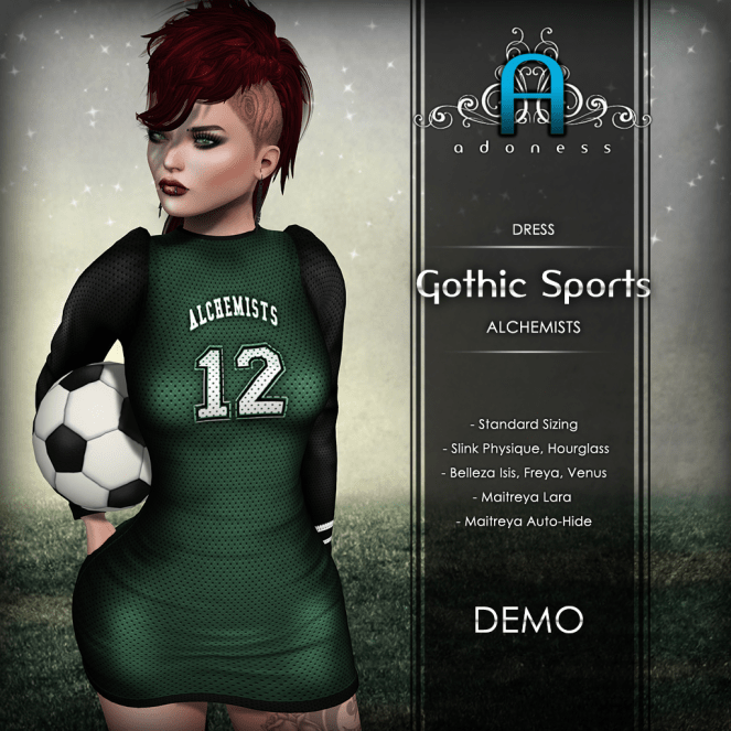 Adoness - Gothic Sports (6 colors total)