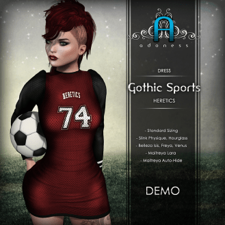 Adoness Gothic Sports (6 colors total)